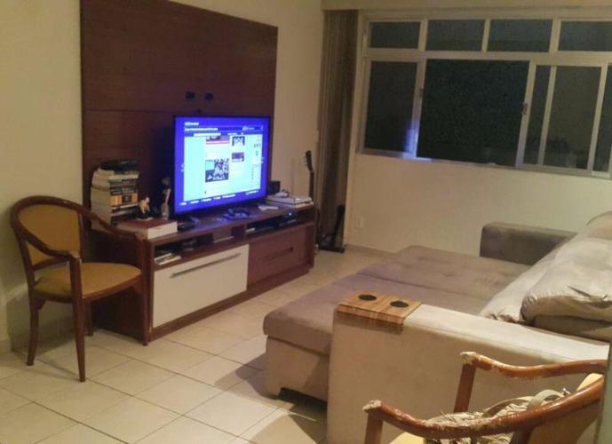 Apartamento residencial à venda, Campo Grande, Santos. Com 2 dormitórios 1 banheiro 1 vaga