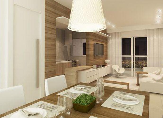 Studio em Ponta Da Praia/SP de 50m² 1 quartos a venda por R$ 298.000,00