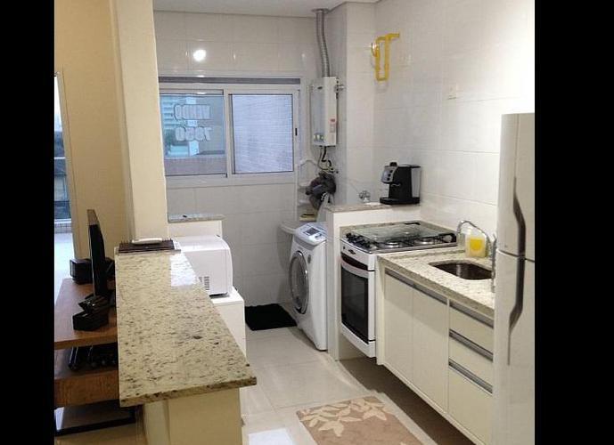 Apartamento em Gonzaga/SP de 65m² 1 quartos a venda por R$ 477.000,00 ou para locação R$ 3.490,00/mes