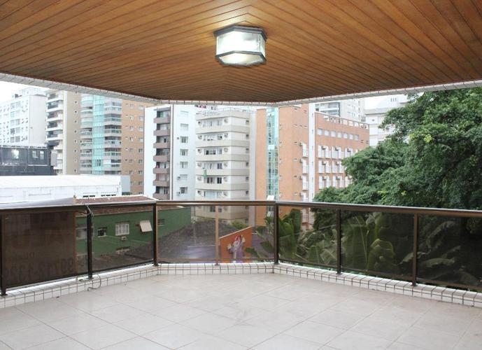 Apartamento em Gonzaga/SP de 377m² 4 quartos a venda por R$ 1.780.000,00 ou para locação R$ 5.800,00/mes