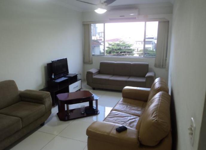 Porteira Fechada * Apartamento  residencial à venda, Gonzaga, Santos.