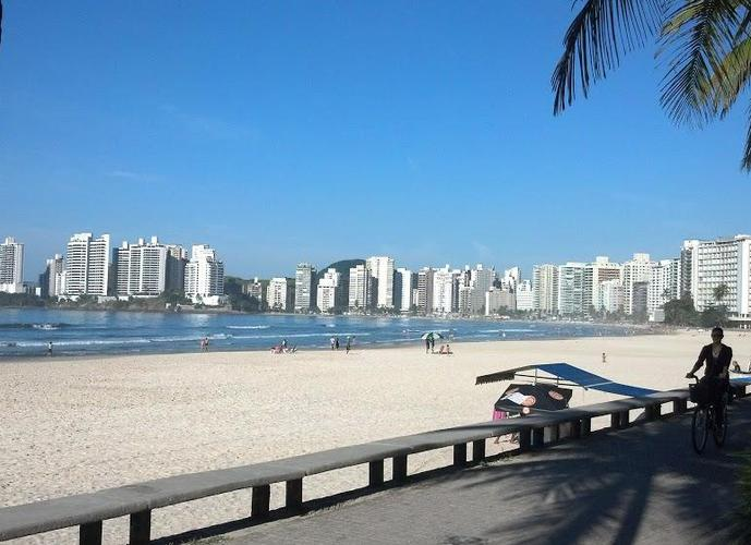 Apê na Praia! Apartamento residencial à venda, Barra Funda, Guarujá.