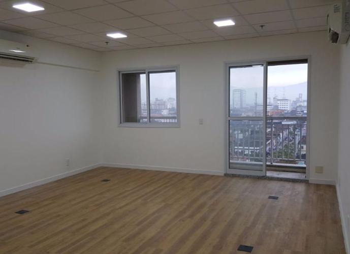 Sala em Vila Matias/SP de 43m² a venda por R$ 328.000,00 ou para locação R$ 1.280,00/mes
