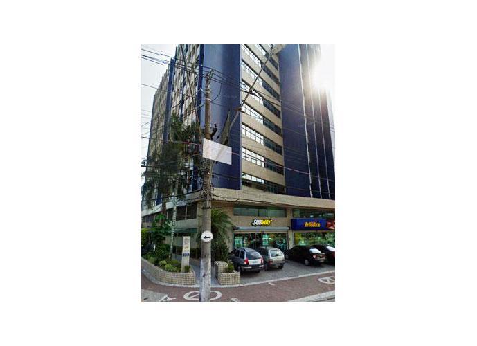Andar Corporativo comercial para locação, Vila Matias, Santos.