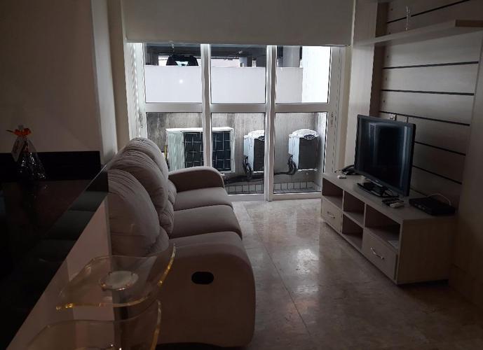 LOFT SANTOS -Apartamento tipo Loft residencial para venda e locação, Gonzaga, Santos.