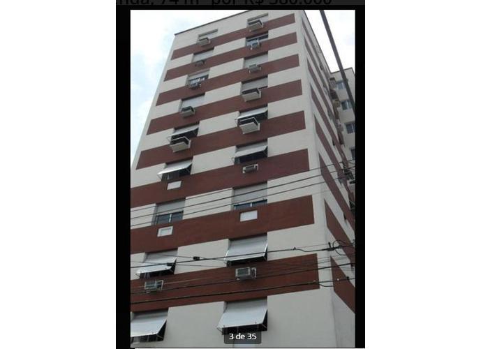 Apartamento em Gonzaga/SP de 74m² 2 quartos a venda por R$ 370.000,00