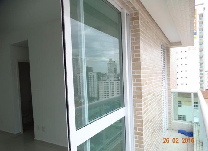 Apartamento em Gonzaga/SP de 54m² 1 quartos para locação R$ 2.500,00/mes