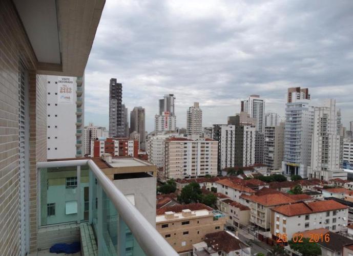 Apartamento em Gonzaga/SP de 52m² 1 quartos para locação R$ 2.500,00/mes
