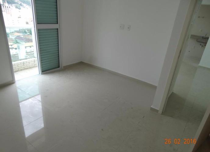 Apartamento em Gonzaga/SP de 52m² 1 quartos para locação R$ 2.400,00/mes
