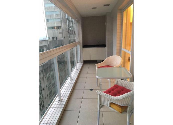 Apartamento em Gonzaga/SP de 57m² 1 quartos a venda por R$ 647.000,00 ou para locação R$ 3.000,00/mes