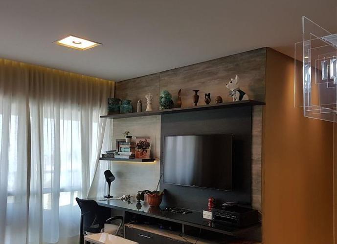 Lindo Apartamento com Vista Mar no Gonzaga =)Apartamento residencial para venda e locação, Gonzaga, Santos - AP3163.