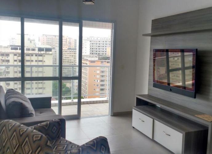 Apartamento em Gonzaga/SP de 80m² 2 quartos para locação R$ 4.090,00/mes