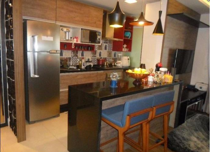 Apartamento em Gonzaga/SP de 80m² 2 quartos a venda por R$ 649.900,00 ou para locação R$ 4.900,00/mes