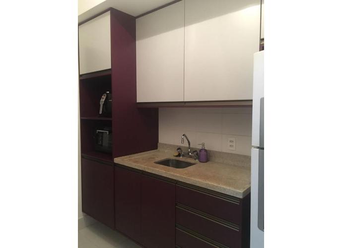 1 Dormitório Mobiliado - Locação no Emirado