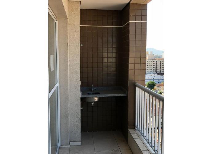 Bella Vita, Apartamento residencial para venda e locação, Encruzilhada, Santos - AP3338.
