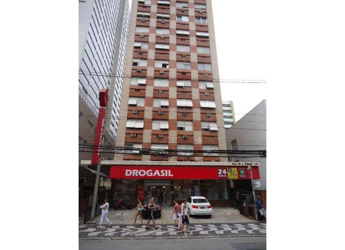 Apartamento residencial para locação, Gonzaga, Santos.