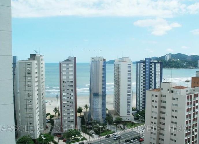 Oportunidade! Apto. de 2 quartos em Santos, com MARAVILHOSA vista para o mar