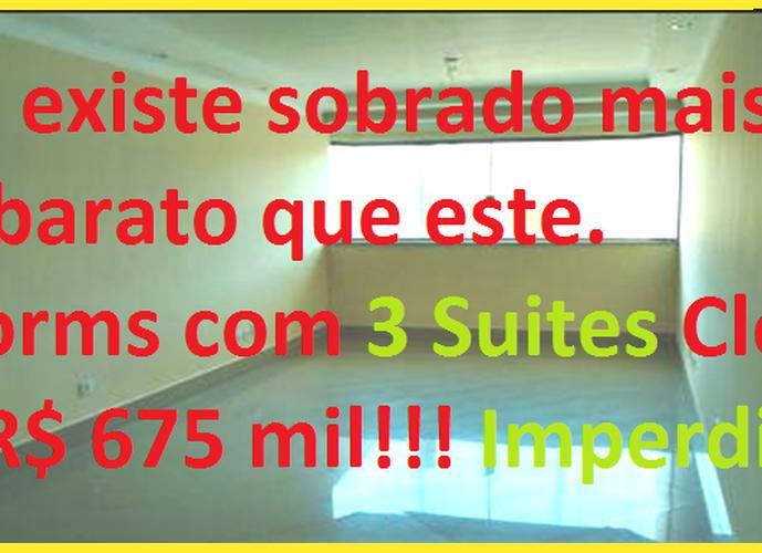 Sobrado à venda, 130 m², 3 quartos, 4 banheiros, 3 suítes
