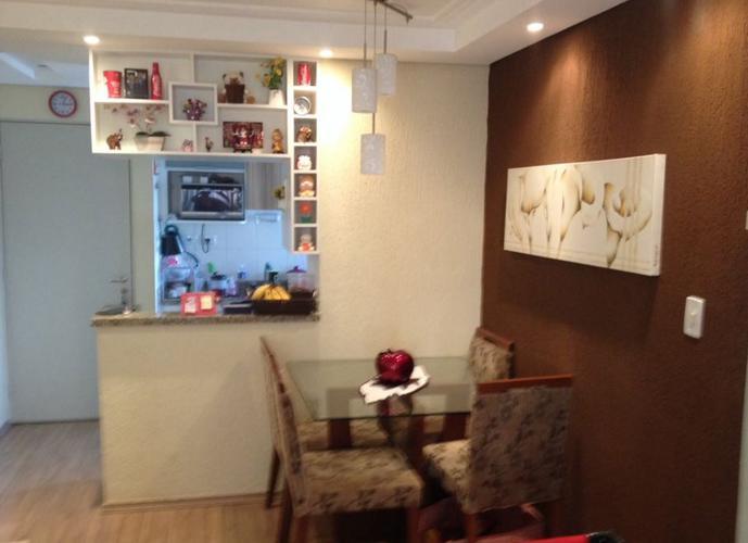 Apartamento em Vila Jaraguá/SP de 52m² 2 quartos para locação R$ 1.000,00/mes