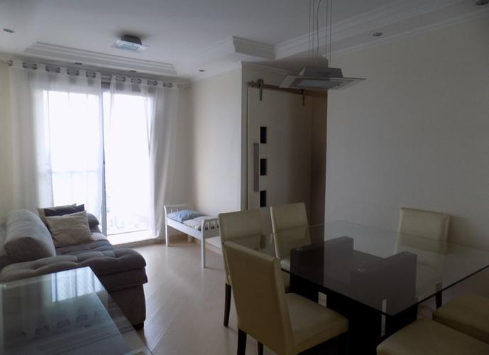 Apartamento em Parque Maria Domitila/SP de 65m² 3 quartos para locação R$ 2.500,00/mes