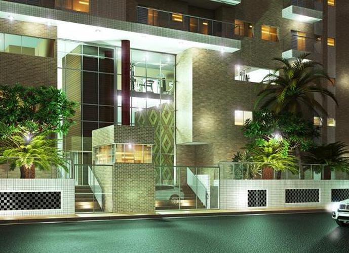 Apartamento em Cidade Ocian/SP de 60m² 1 quartos a venda por R$ 239.000,00