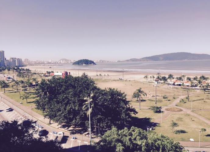 Apartamento  residencial à venda,3 dormitórios, vista mar panorâmica,  Itararé, São Vicente.