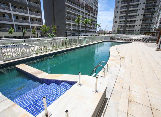 Apartamento  residencial à venda, prédio novo e com lazer na Vila Matias, Santos.