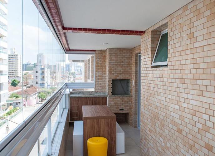 Apartamento em Ocian/SP de 81m² 2 quartos a venda por R$ 402.999,00