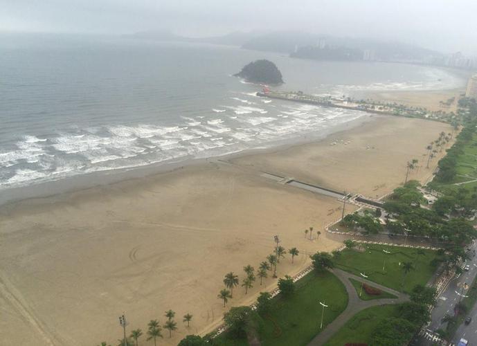 Unlimited Ocean Front, Andar Alto,  Gonzaga, Santos.