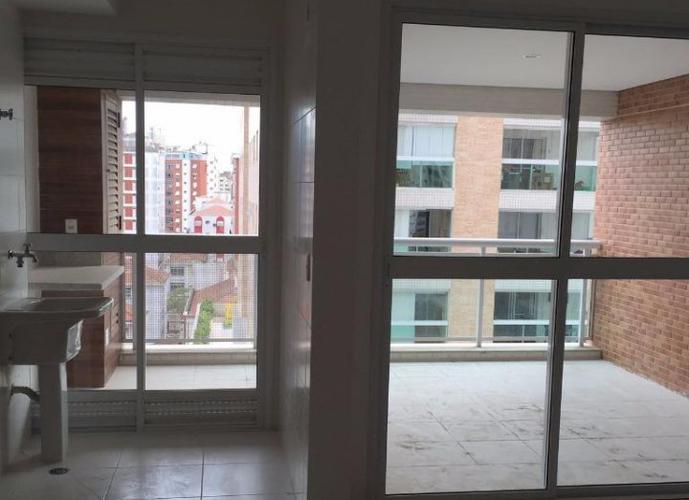 Apartamento em Ponta da Praia/SP de 77m² 2 quartos a venda por R$ 606.000,00