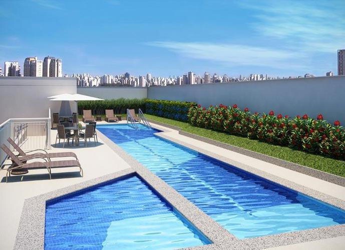 Apartamento em Pinheiros/SP de 50m² 1 quartos a venda por R$ 778.600,00