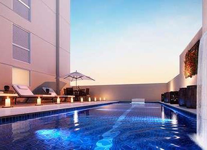 Apartamento  residencial à venda,  Mirante 360, José Menino, Santos.