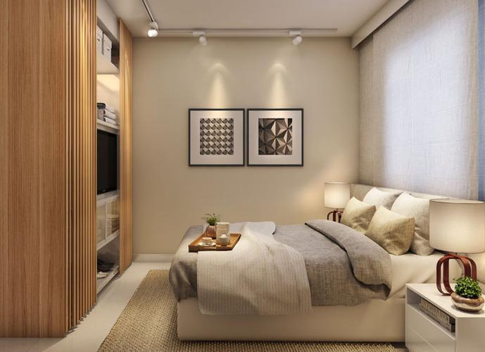 Apartamento em Vila Cascatinha/SP de 49m² 2 quartos a venda por R$ 209.999,00