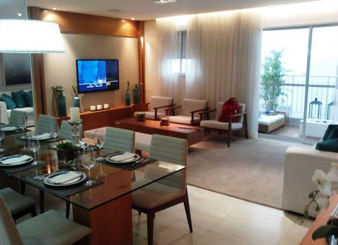 Apartamento em Vila Gumercindo/SP de 86m² 3 quartos a venda por R$ 620.000,00