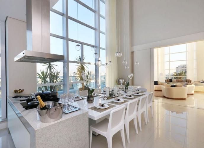 Apartamento em Brooklin Paulista/SP de 59m² a venda por R$ 595.000,00