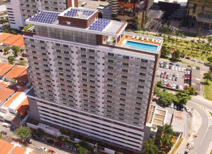 Apartamento em Santo Amaro/SP de 50m² 1 quartos a venda por R$ 555.000,00