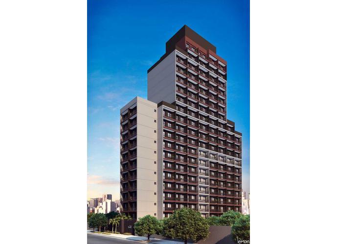 Kitnet em Centro/SP de 26m² 1 quartos a venda por R$ 189.000,00