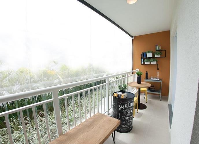 Apartamento 1 dorm. , varanda , 1 vaga -  Mooca -A 400 m do metrô! Pronto
