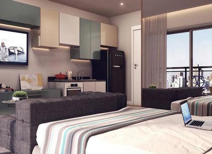 Studio em Vila Madalena/SP de 31m² 1 quartos a venda por R$ 363.000,00