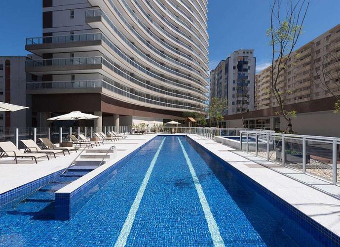 Apartamento em José Menino/SP de 53m² 1 quartos para locação R$ 3.400,00/mes