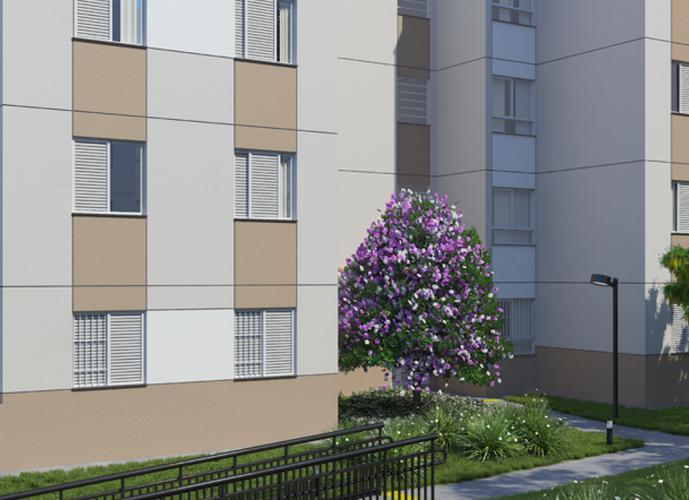 Apartamento em Jaraguá/SP de 46m² 2 quartos a venda por R$ 173.000,00
