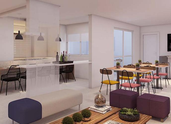 Apartamento em Jardim Rossi/SP de 48m² 1 quartos a venda por R$ 240.000,00