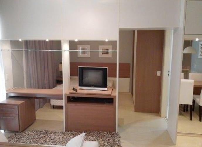 Flat em Paraíso/SP de 60m² 2 quartos para locação R$ 4.055,00/mes