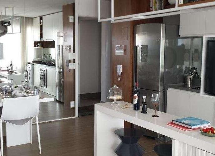 Campo Belo VIAZZA 400 - Aptos 43m² 1 suite c/ lavado 1 vaga
