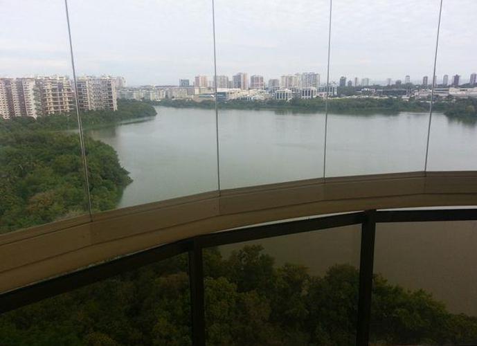 Apartamento residencial à venda, Barra da Tijuca, Península, Rio de Janeiro.