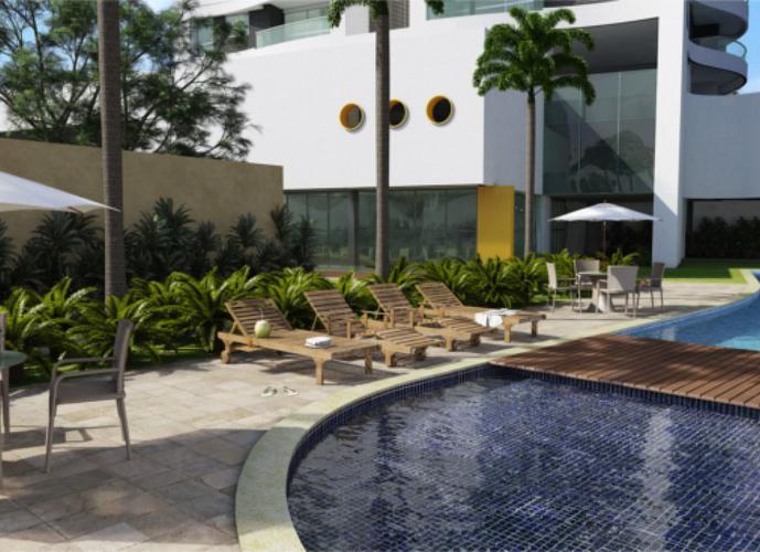 Apartamento de alto Padrão de Qualidade com 127m², 3 Suites, Sala com Varanda Gourmet Integrada a Cozinha e em localização tradicional de Recife