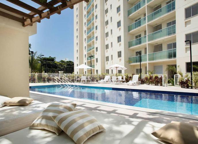 Apartamento residencial à venda, Curicica, Rio de Janeiro.