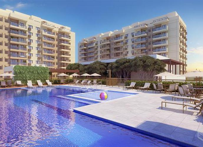 Apartamento em Recreio dos Bandeirantes/RJ de 66m² 2 quartos a venda por R$ 369.000,00