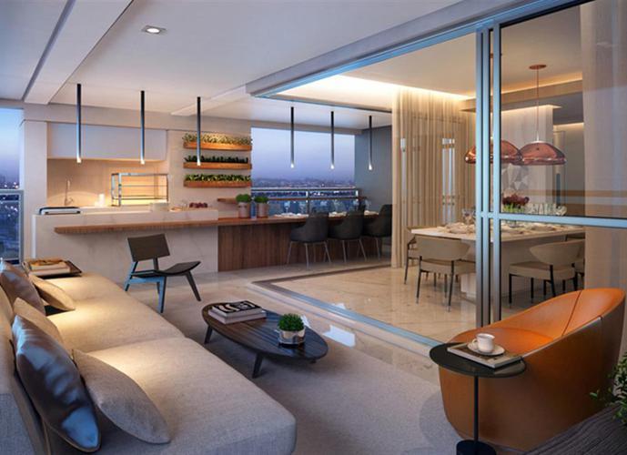 Apartamento em Campo Belo/SP de 220m² 4 quartos a venda por R$ 2.860.000,00