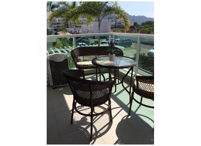 Apartamento em Recreio dos Bandeirantes/RJ de 70m² 2 quartos a venda por R$ 579.000,00